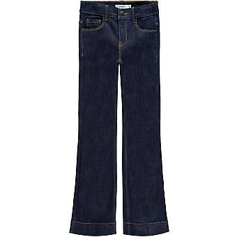Namn-it Girls Jeans byxor Polly Dnmtejas Mörkblå