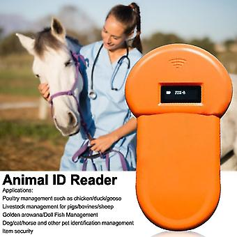 Cats Horse ISO FDX B Animal ID Reader Microchip Scanner Portable Tracking