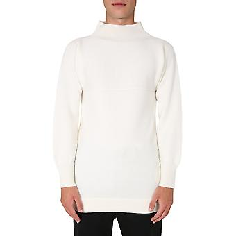 Maison Margiela S30hb0224s17462101 Men's White Wool Sweater