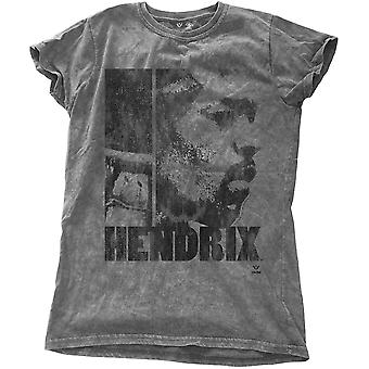Damen Jimi Hendrix grau lassen Sie mich live offiziellen t-Shirt T-Shirt weiblich
