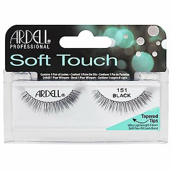 Ardell Soft Touch Ultra Lightweight Lashes - 151 Black - Flexible Lash Band