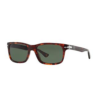 Persol PO3048S 24/31 Havana/Crystal Green Glasses