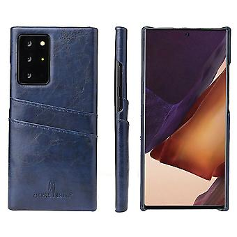 For Samsung Galaxy Note 20 Case Deluxe Protective Cover Blue