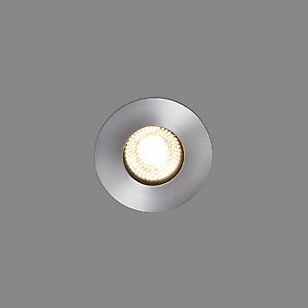 LED Large Outdoor In Ground Recessed Spotlight Matt Nickel IP67