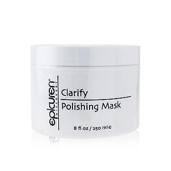 Epicuren Clarify Polishing Mask - For Normal, Oily & Congested Skin Types (Salon Size) 250ml/8oz