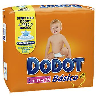 Dodot Basic Size 5 with 36 Units (Baby & Toddler , Diapering , Diapers)