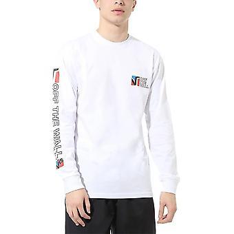 Vans Dimensions Longsleeve T-shirt (wit)