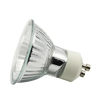 10pcs/lot Halogen Gu10 Bulb With 220v 35w And 50w,diameter 50mm Mr16 Clear