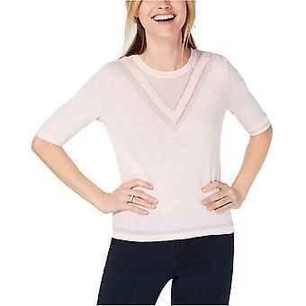 Maison Jules | Crewneck Tonal Intarsia Sweater