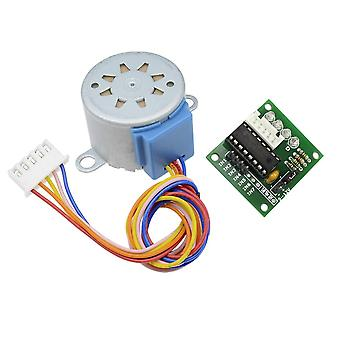 Smart Elektronikk 28byj-48 12v 4 fase dc gear stepper motor + Uln2003 driverkort for Arduino Diy Kit