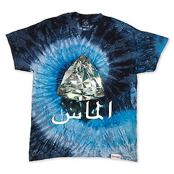 Diamond Supply Co Arabe Diamond T-shirt Tie Dye Blue