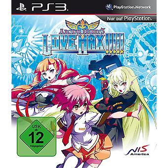 Arcana Heart 3 Love Max PS3 Gamwe (German Box - English In Game)