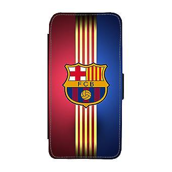 برشلونة سامسونج غالاكسي S9 محفظة القضية