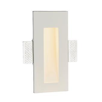 Integrierte LED Einbau weiß Gips 1 Licht IP20