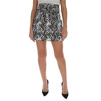 Attico 202wcs12el001084 Women's Grey Cotton Skirt