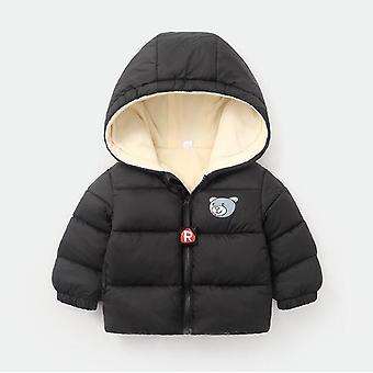 الاطفال الشتاء السترات ذات القلنسوة الدافئة