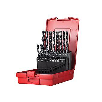 Dormer A190 No.201 Metrisk HSS Drill Set på 19 1,0-10,0 x 0,5 mm DORSET201