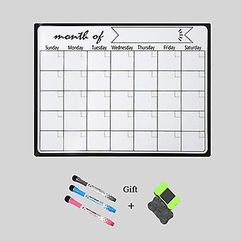 A3 Weekly-planner Magnetic-whiteboard, Fridge Magnets Stickers Drawing Message