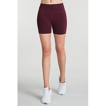 Jerf Womens Aruba Maroon Seamless Shorts