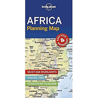 Lonely Planet Africa Planning Map (Kaart)