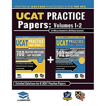 Ucat Practice Papers Volumes One & Two: 6 Full� Mock Papers, 1400 Questions in the Style of the Ucat, Detailed Worked Solutions for Every Question, 2020 Edition, Uniadmissions