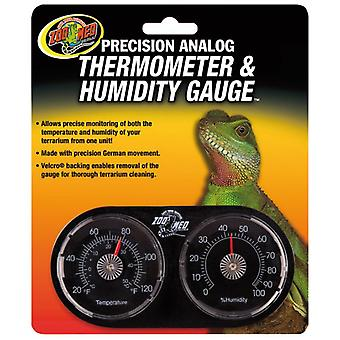 Zoo Med Dual Thermometer-Hygrometer