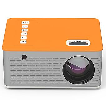 Hd Mini Projector For Smartphone, Home Theater, Cinema Anchor Conference Zoom,