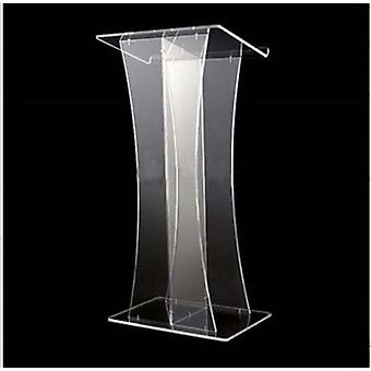 Acrylic Church Lectern, Acrylic Podium Pulpit Desktop Lectern