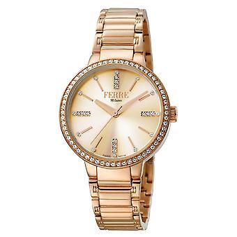 Ferre Milano FM1L084M0081 Women's Silver Dial Stainle Steel  Watch