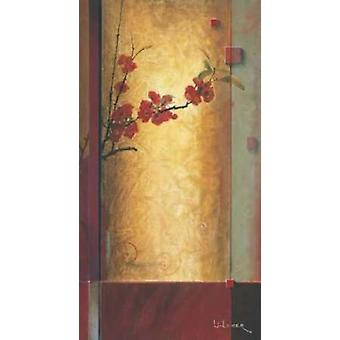 Blossom Tapestry II Poster Print by Don Li-Leger