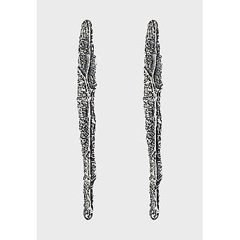 Kalevala Earrings Women's The KUU Collection Silver 2651452T