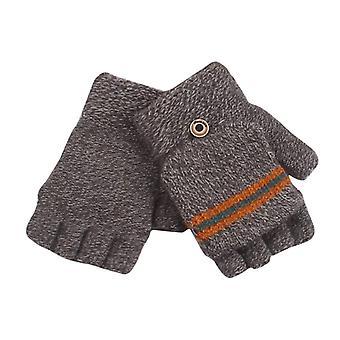 Kinder's Winter Halbfinger stricken Handschuhe, Ab-Garn Strickhandschuhe