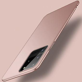USLION Samsung Galaxy S20 Ultra Magnetic Ultra Thin Case - Hard Matte Case Cover Pink