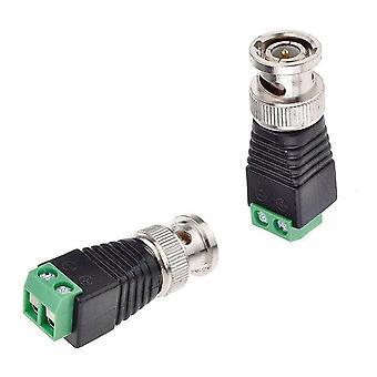 Connecteurs Bnc Pour Ahd Camera Cvi/ Tvi/ Cctv- Coaxial/ Cat5/ Cat6 Cables