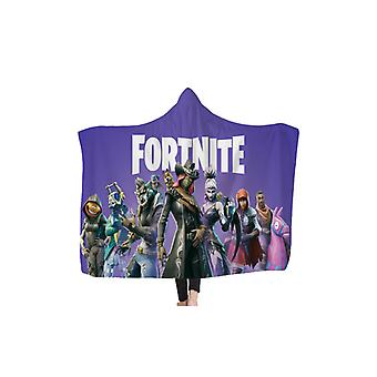 Fortnite Wrap Blanket for Kids and Adults