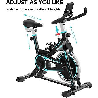 CITYSPORTS Indoor Exercise Bike Stationary Cycling Bicycle Cardio Fitness Workout (CS08)