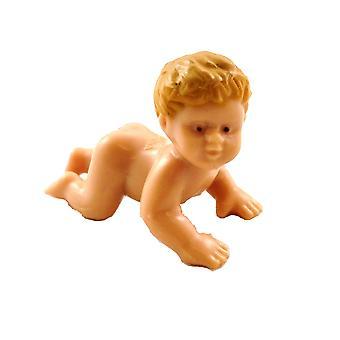 Panenky Dům Holčička Plazení Miniaturní Lidé Dětské Příslušenství 1:12 Panenka