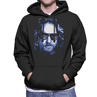 The Big Lebowski The Dude Face Cold Filter Men's Hooded Sweatshirt