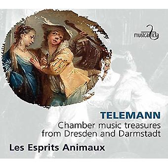 Telemann / Esprits Animaux - Chamber Music Treasures From Dresden & Darmstadt [CD] USA import