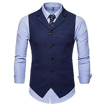 Gilet Homme Costume, Business Casual Waistcoat Formal Slim Waistcoat, Mariage