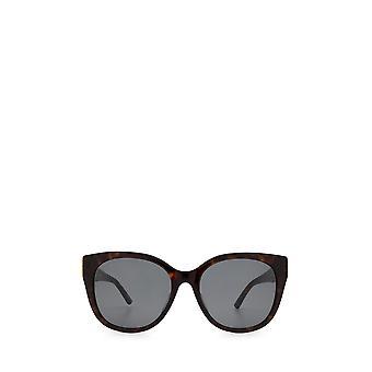 Balenciaga BB0103SA هافانا النظارات الشمسية الإناث