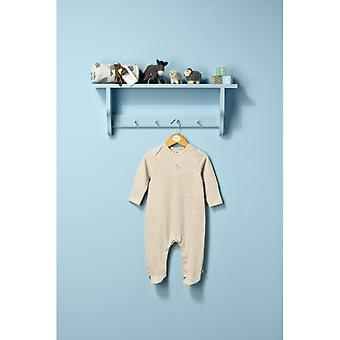 The Essential One Unisex Baby Sleepsuit Oatmeal