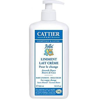 Cattier Liniment Cleansing Milk for Babies 500 ml