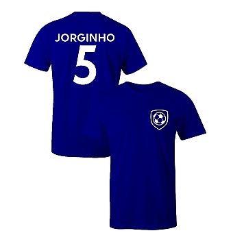 Jorginho 5 Club Style Player Football T-Shirt