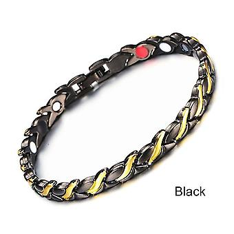 Twisted Healthy Magnetic Bracelet, Power Therapy, Magnetite Bracelets