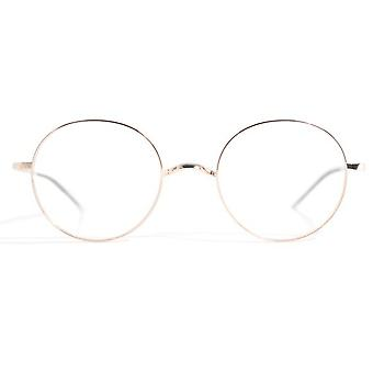Gotti Adan GLS Shiny Gold Glasses