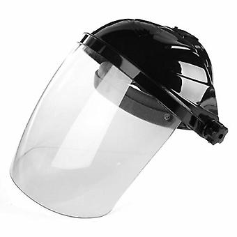 Protection Cap Transparent Shield Anti-uv Anti-shock Half Face Helmet Household
