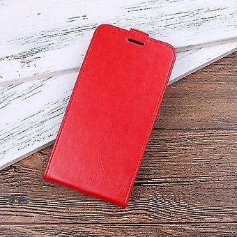 المغناطيسي الجلود CaseElegant للشرف V10 - أحمر