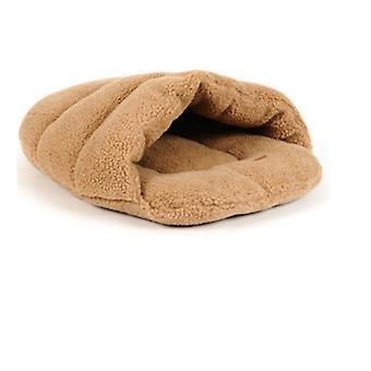 Cat's House Wram-keeping Lamb Wool Slippers Pet's House Cat's Sleeping Bag Utensil