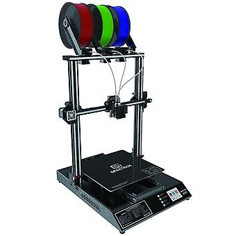 Geeetech a30t 3-in-1-out auto leveling mix color 3d printer mix-color 320*320*420mm print area with filament fetector fdm